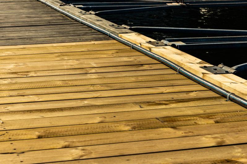 Reparera trä- betongbrygga